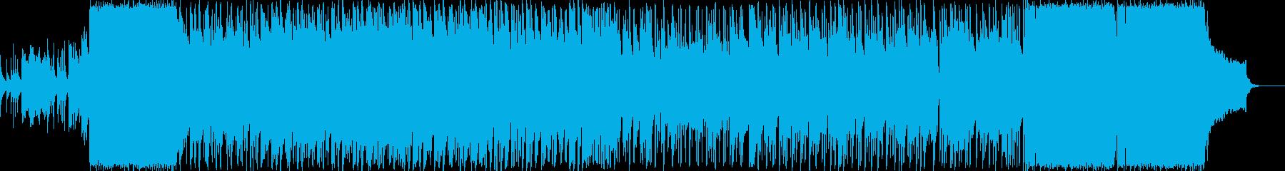 ピアノ主旋律のファンタジック変拍子ポップの再生済みの波形
