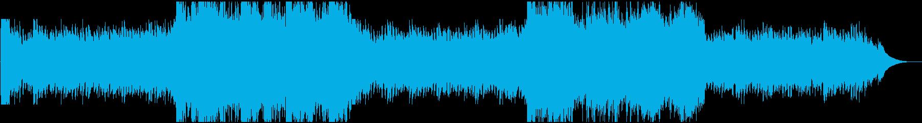 現代的 交響曲 荘厳 リラックス ...の再生済みの波形