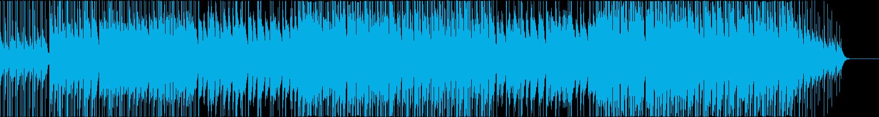 ゆったりした雰囲気のの再生済みの波形