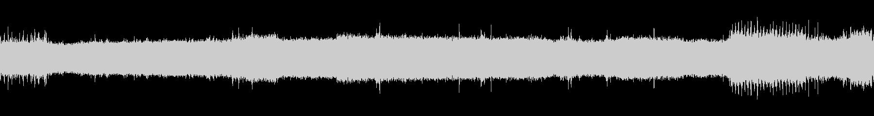 【生音】 電車 - 走行音 - 03の未再生の波形