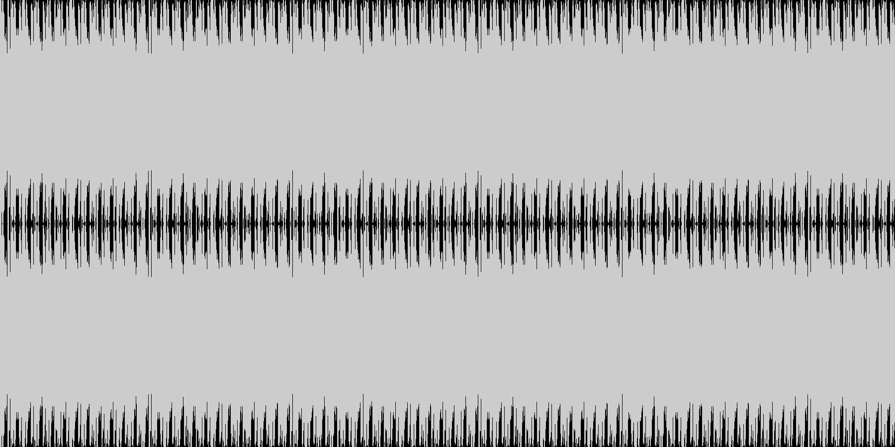 疑惑の未再生の波形