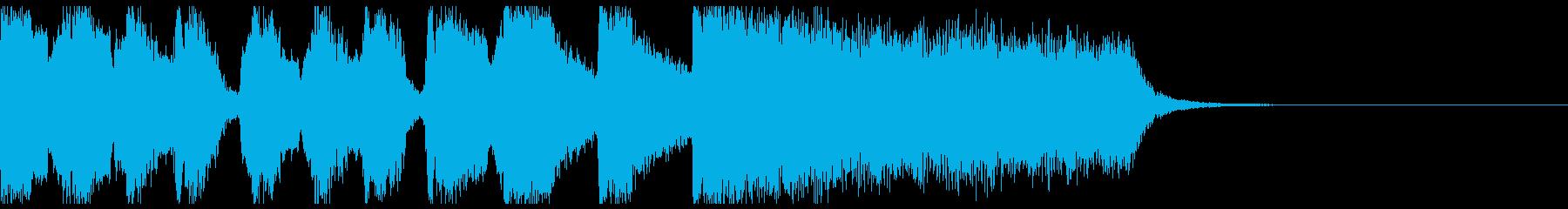 【ジングル】エンディング・ハッピーエンドの再生済みの波形