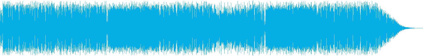 中華・カンフー映画風ファンクの再生済みの波形