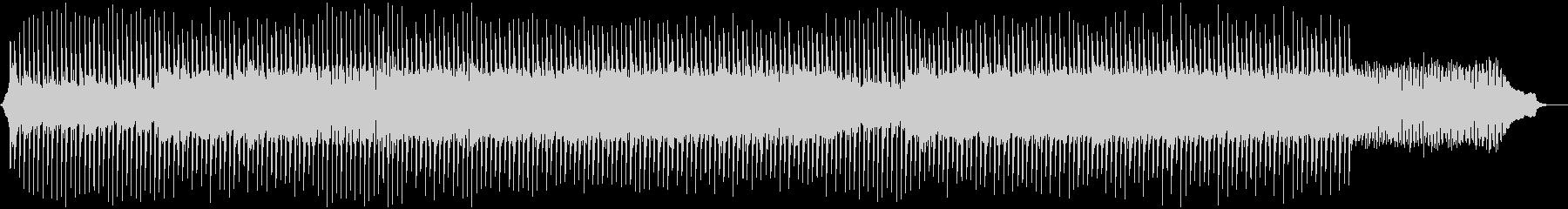 ピアノとシンセのテクノポップの未再生の波形