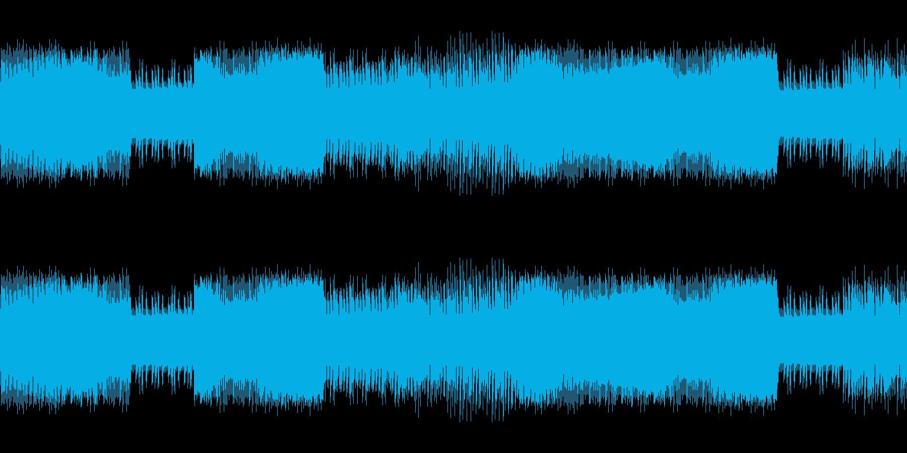 8ビットゲームサウンドBGM 03の再生済みの波形