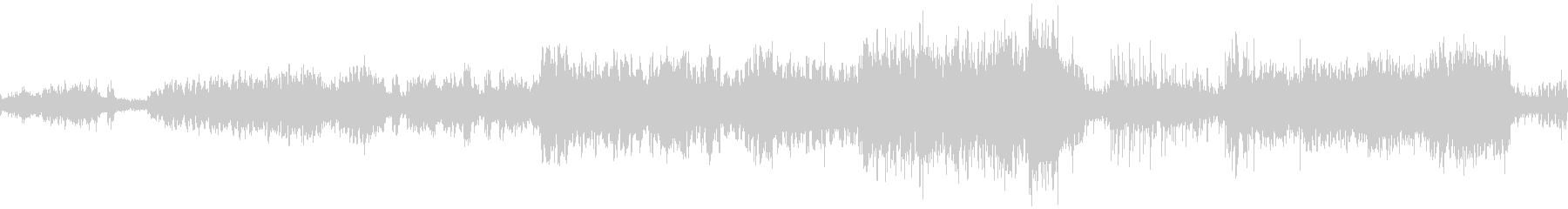 Fベーコンの絵をイメージした劇伴曲の未再生の波形