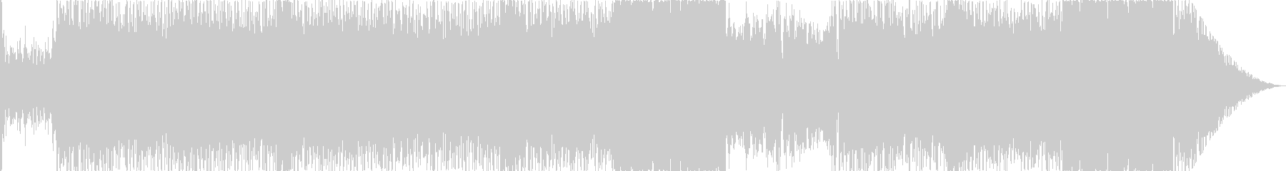 神秘的で不思議な雰囲気のBGM2の未再生の波形