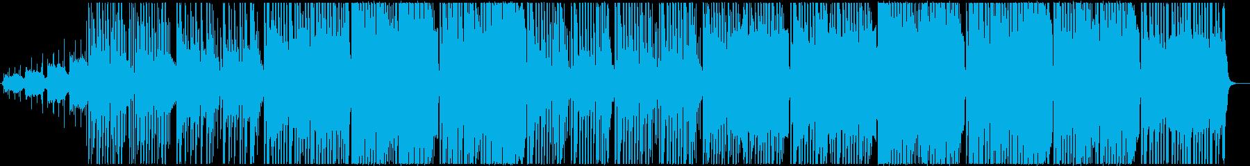 アンビエントなダウンテンポの再生済みの波形
