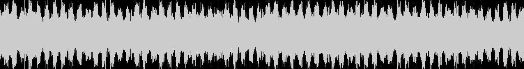 ジャジーなピアノおしゃれポップループbの未再生の波形