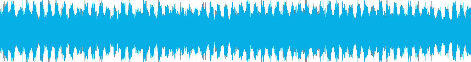 ジャジーなピアノおしゃれポップループbの再生済みの波形
