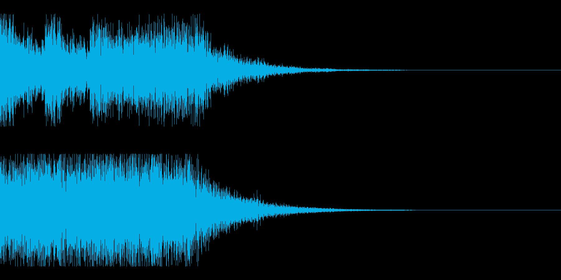 クイズ結果発表ーオーケストラ風の再生済みの波形