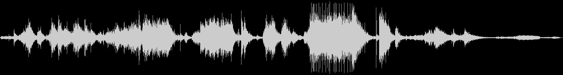 メタルクランクインパクト、ワーピン...の未再生の波形