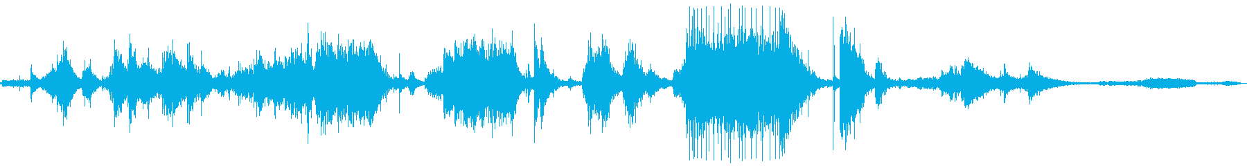 メタルクランクインパクト、ワーピン...の再生済みの波形