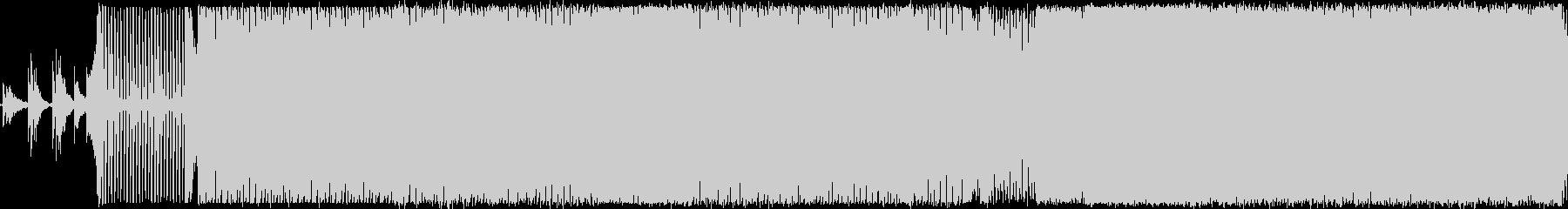 プログレッシブハウス。フーガ。の未再生の波形