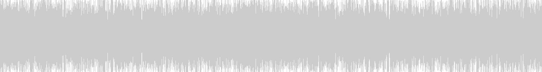 シンプルで力強いメタル調【ループ仕様】の未再生の波形