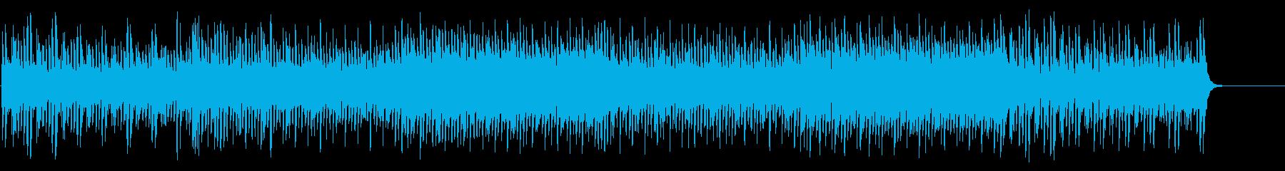 ゲームブリッジ風淡々としたテクノポップの再生済みの波形