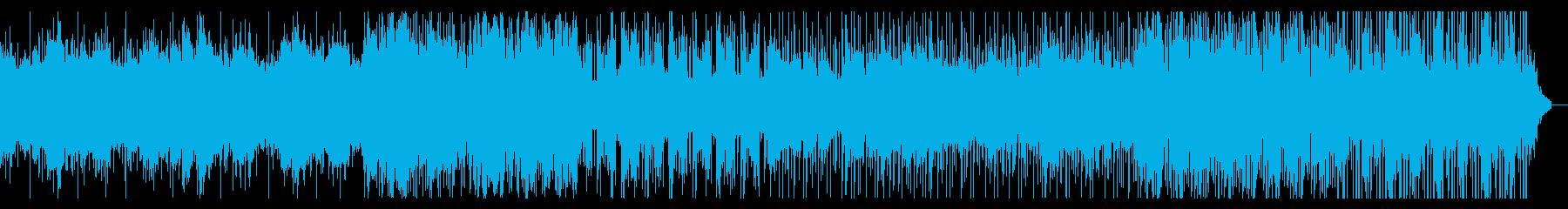 ダークながらチルっぽいフューチャービートの再生済みの波形