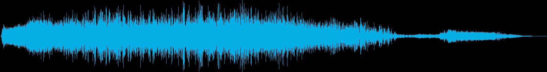 高速テキストブラストインテンスフェ...の再生済みの波形