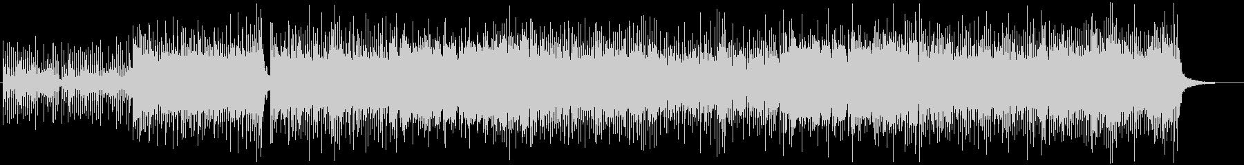 和風、三味線メタル2、激しい(声入り)Bの未再生の波形