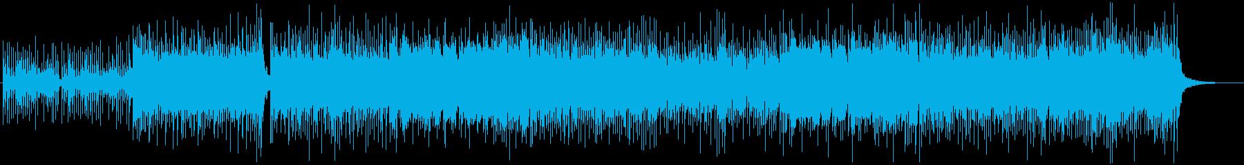 和風、三味線メタル2、激しい(声入り)Bの再生済みの波形