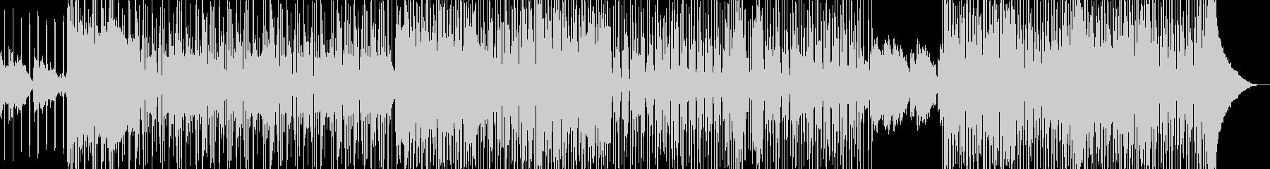 オシャレR&B・後半リズム変化・シンセ有の未再生の波形