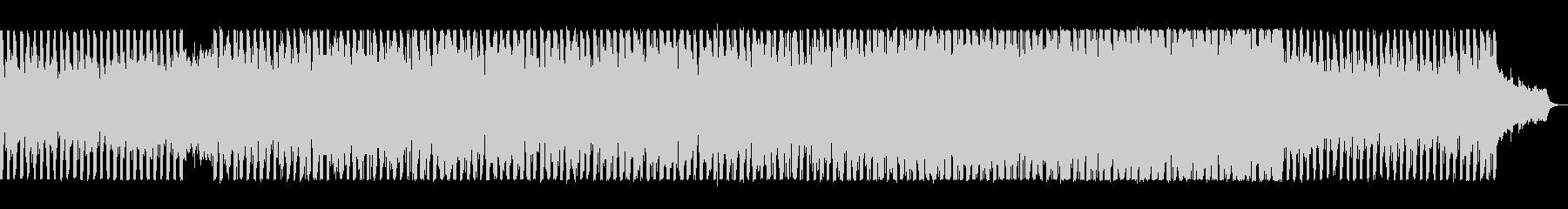 躍動感のあるユーロ系テクノの未再生の波形
