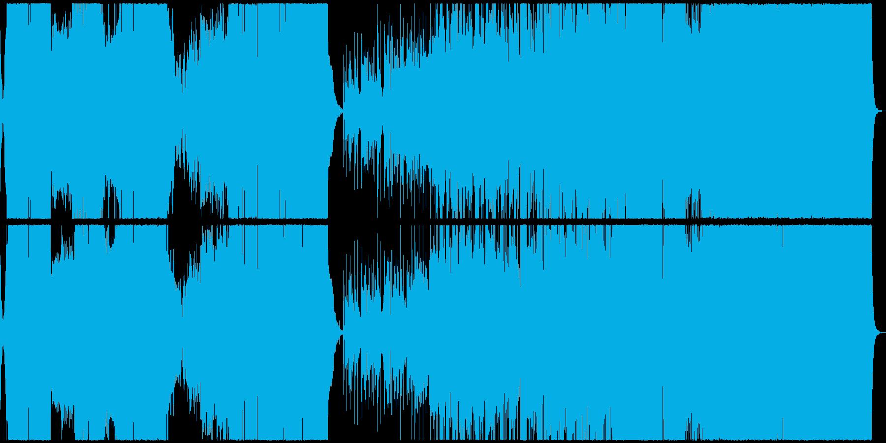 エキゾチックで神秘的な重厚プログレの再生済みの波形