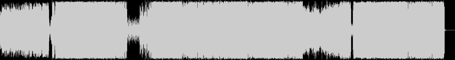 尺八.三味線を取り入れたヘビーロックの未再生の波形