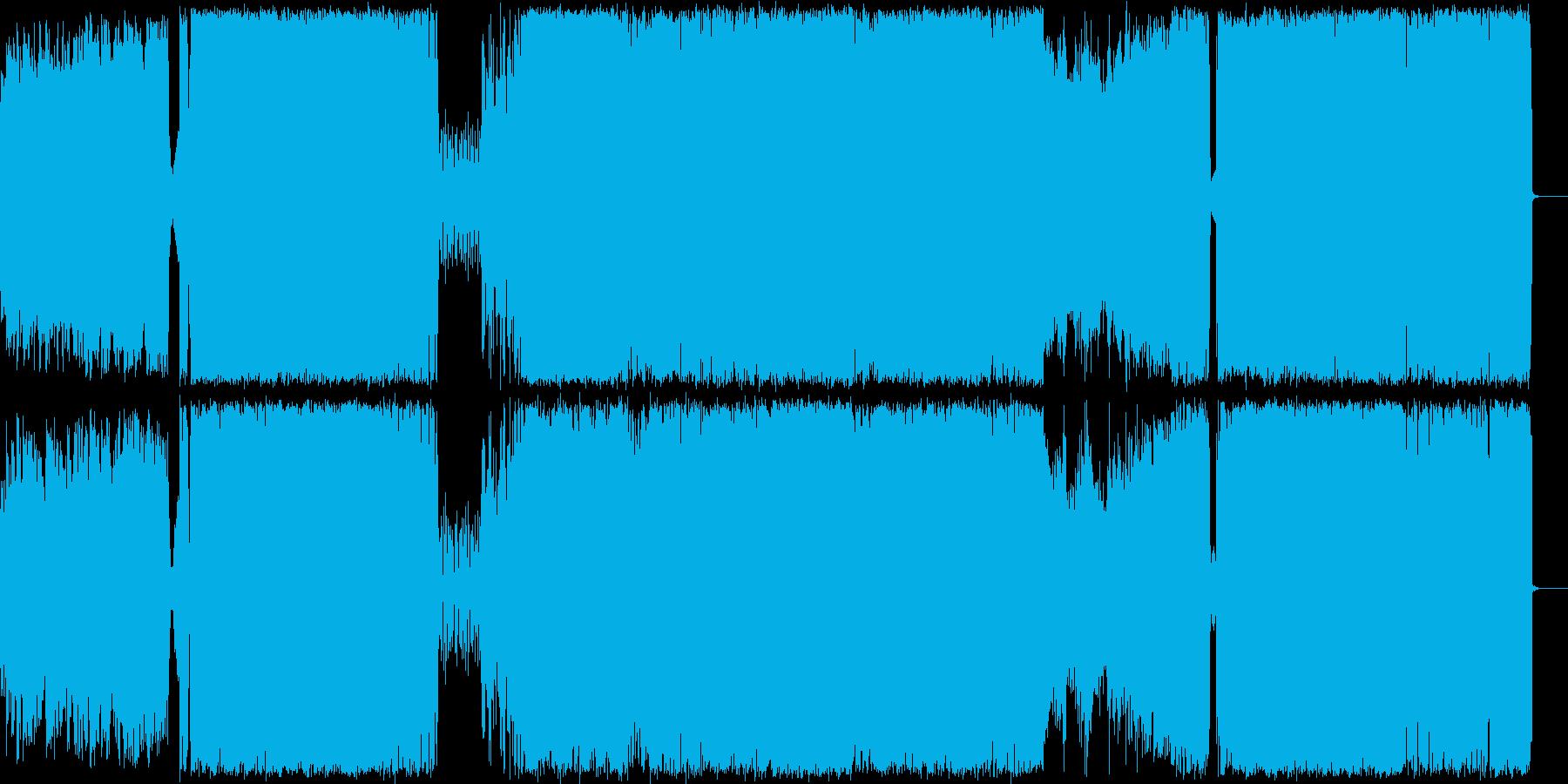 尺八.三味線を取り入れたヘビーロックの再生済みの波形