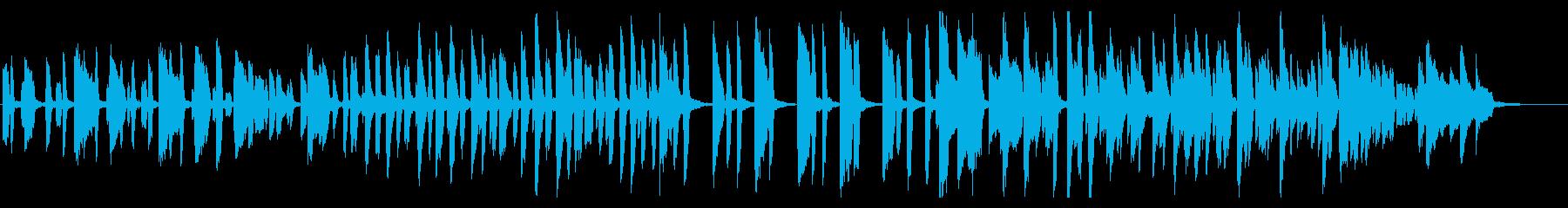 明るい・クッキング・おしゃれ・ジャズの再生済みの波形