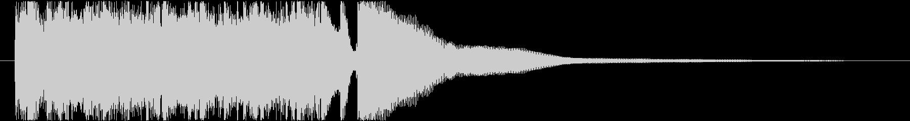 【生演奏】爽やかな朝のアコギジングルの未再生の波形