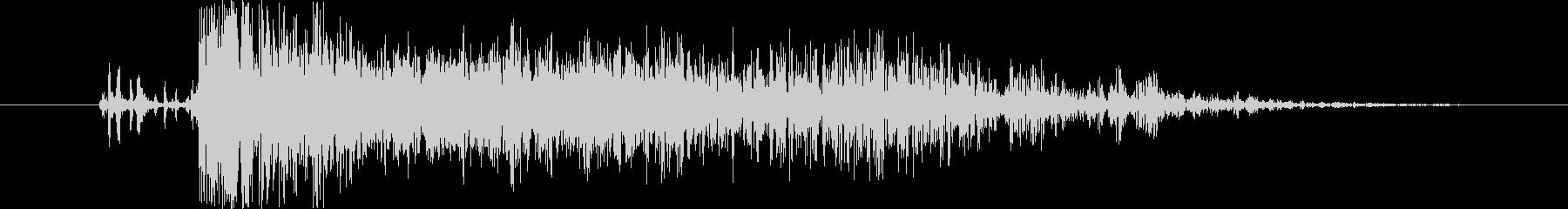 中世 ボウショットファイア06の未再生の波形
