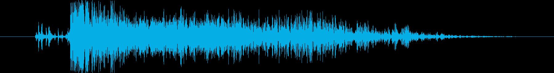 中世 ボウショットファイア06の再生済みの波形