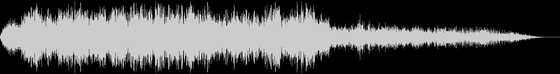 【アンビエント】ドローン_09 実験音の未再生の波形
