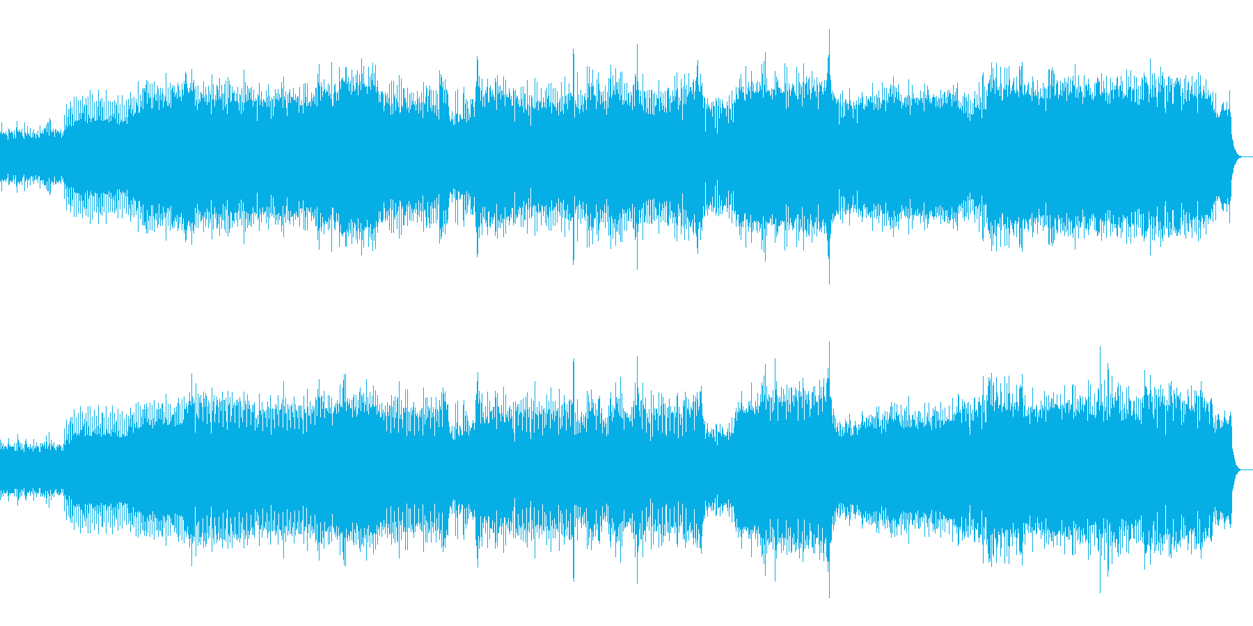 壮大でダークなゴア系トランスの再生済みの波形