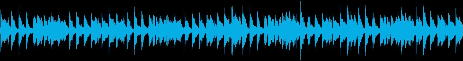 ジャズ(シンキングタイム)の再生済みの波形