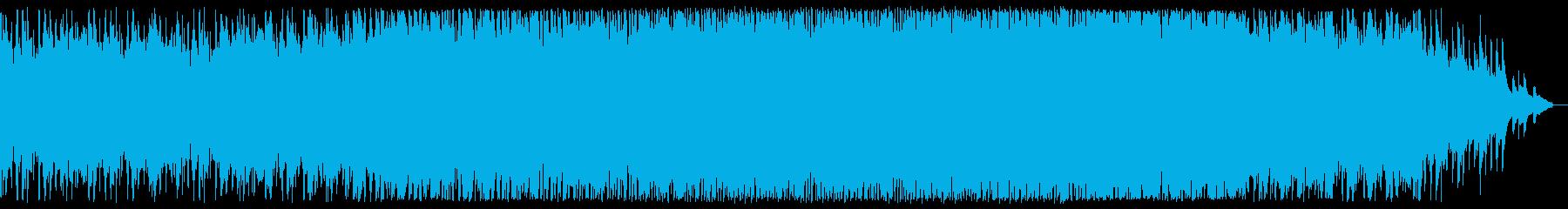浮遊する感動的なチルアウトシンフォニー。の再生済みの波形