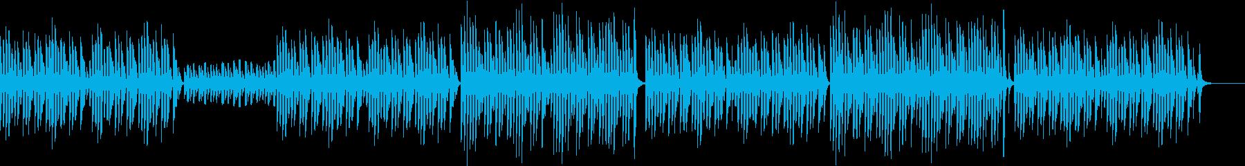 bpm076 キッズTikTok可愛い笛の再生済みの波形