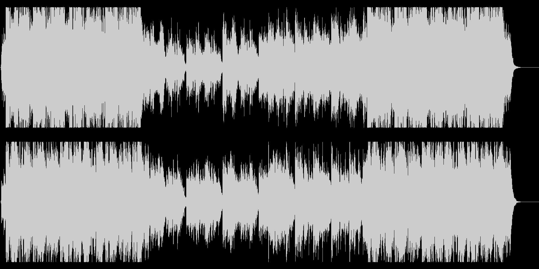 琴、尺八、穏やかで壮大、感動的な和風曲bの未再生の波形