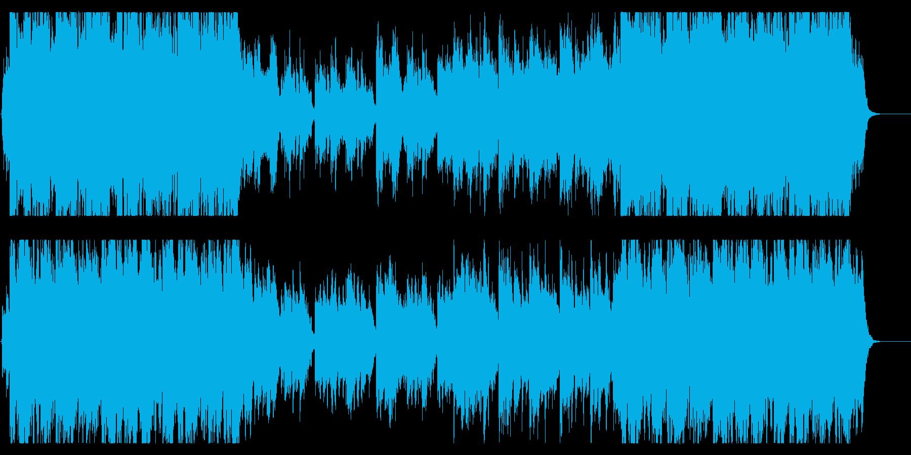 琴、尺八、穏やかで壮大、感動的な和風曲bの再生済みの波形