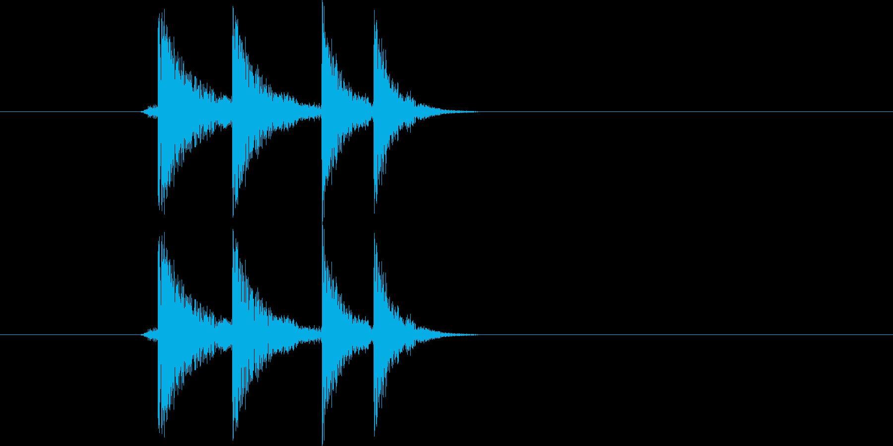 ポリ!(アプリ、クリック)の再生済みの波形