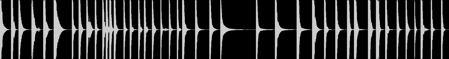 さまざまなハードメタルヒット、継続...の未再生の波形