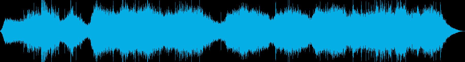 和風 儀式に合うBGMの再生済みの波形