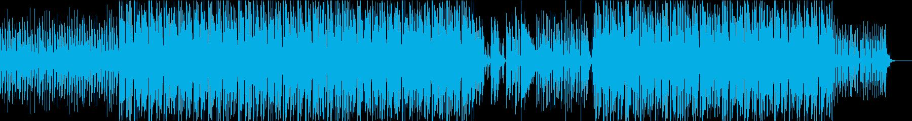 レトロなシンセサウンドとよりモダン...の再生済みの波形