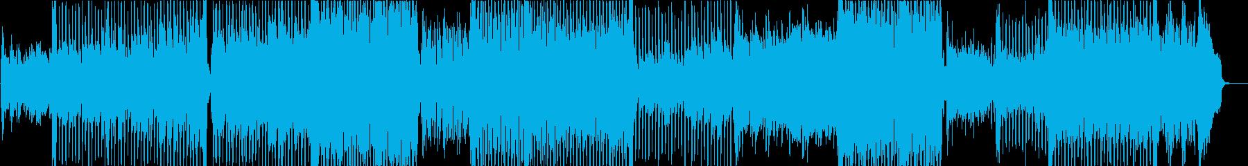 紹介ギターの再生済みの波形
