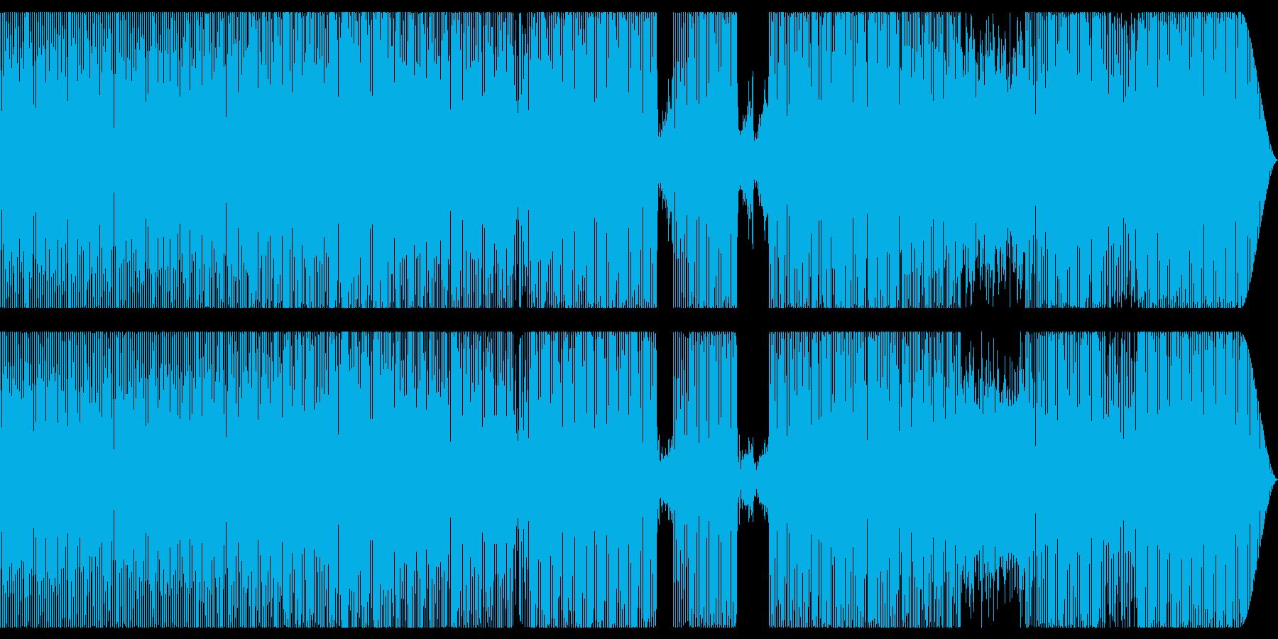 解放的で幻想的なグルーブの再生済みの波形