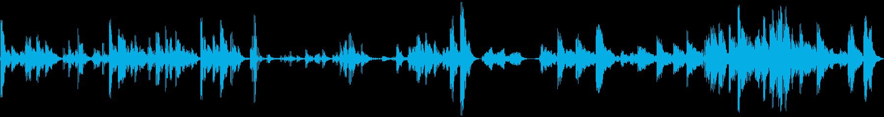 エイリアンエコートーン、悪魔と超絶...の再生済みの波形