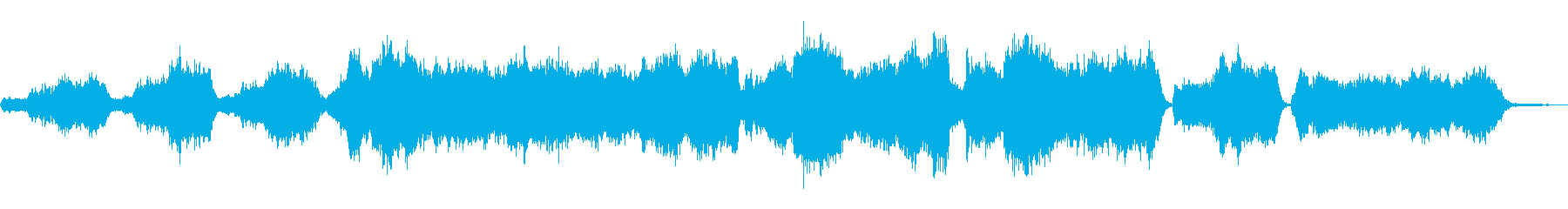 不穏・暗い・ファンタジー・BGMの再生済みの波形