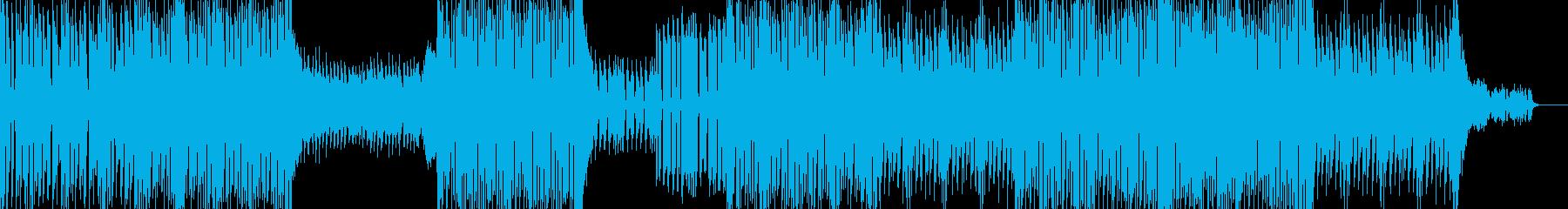 グルーヴ感と展開が印象的なピアノテクノの再生済みの波形