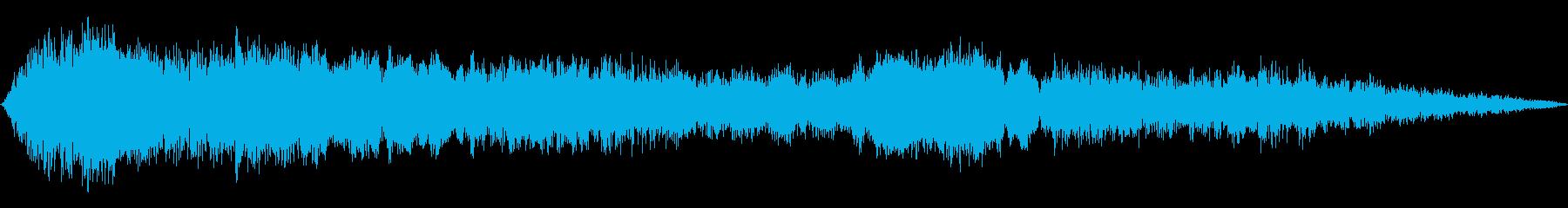 ホイップウィンドドローンの再生済みの波形